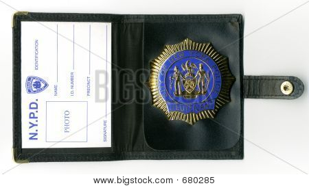 NYPD Wallet