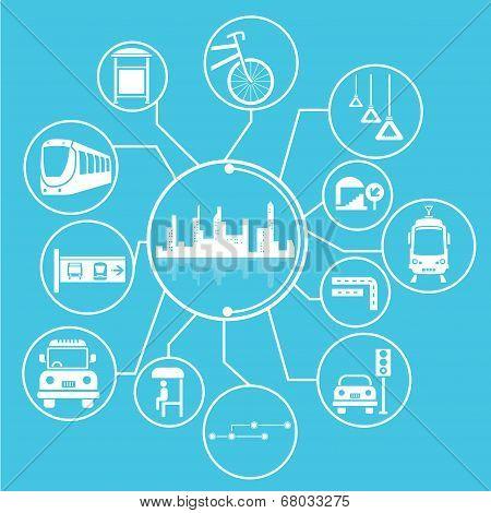 metropolis and public transit