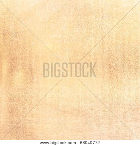 Grunge Background Texture, Old Scratched Artistic Pattern In Yellow Color