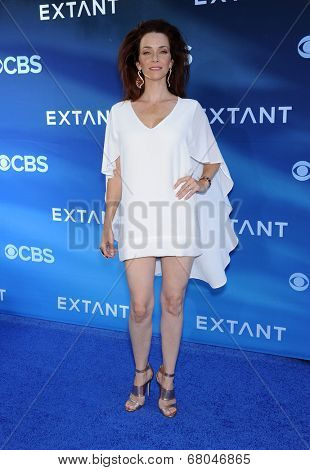 LOS ANGELES - JUN 06:  Annie Wersching arrives to the 'Extant' Premiere Party  on June 06, 2014 in Los Angeles, CA