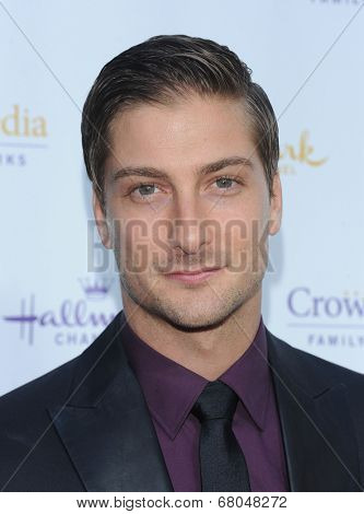 LOS ANGELES - JUL 08:  David Lissing arrives to the Hallmark's