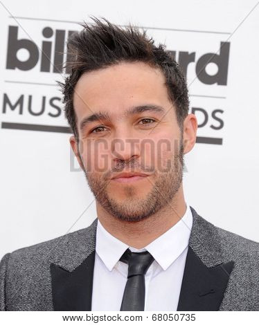 LAS VEGAS - MAY 18:  Pete Wentz arrives to the Billboard Music Awards 2014  on May 18, 2014 in Las Vegas, NY
