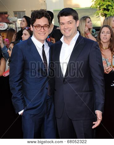 LOS ANGELES - JUN 09:  Phil Lord & Chris Miiler arrives to the
