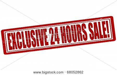 Exclusive Twenty Four Hours Sale
