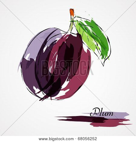 Plum fruit