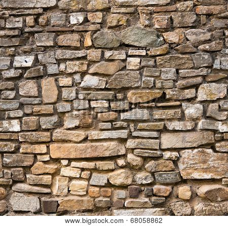 Tileable Stone Wall Texture.