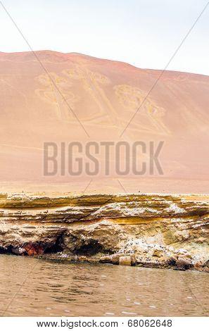 Paracas Candelabra, Islas Ballestas, Peru