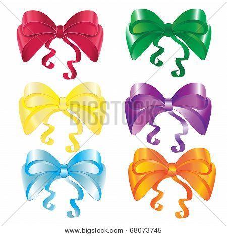 Set of nice bows