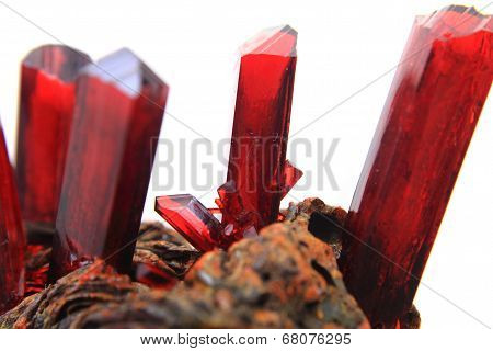 Synthetic Red Crystal