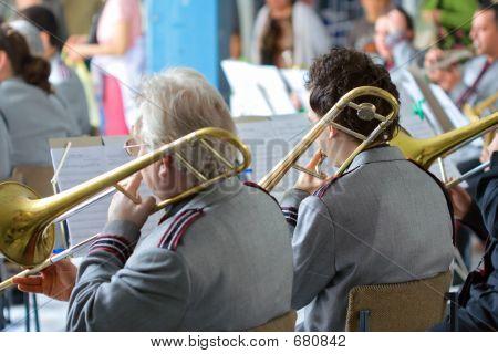 Band At A Concert