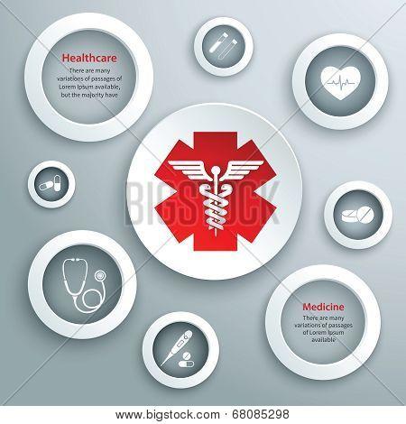 Medical paper symbols