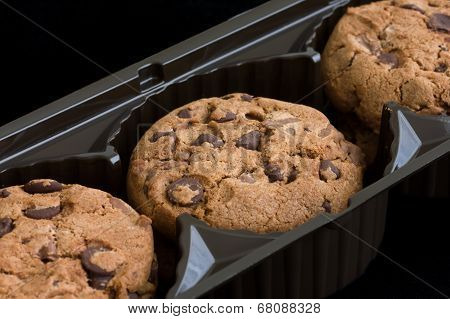 Chocolate chip biscuits.