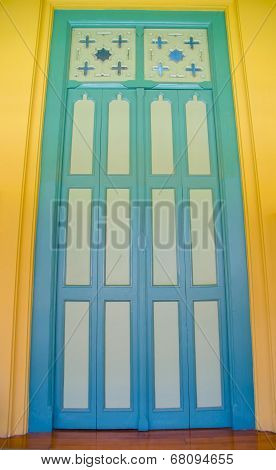 Close-up Vintage Wooden Door