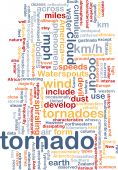 picture of colouder  - Background concept wordcloud illustration of tornado storm weather - JPG
