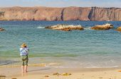 picture of ica  - Senior tourist in Paracas National Reserve - JPG