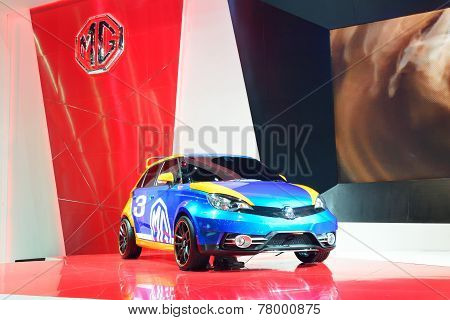 Nonthaburi - December 1: Mg 3 Special Edition Car Display At Thailand International Motor Expo On De