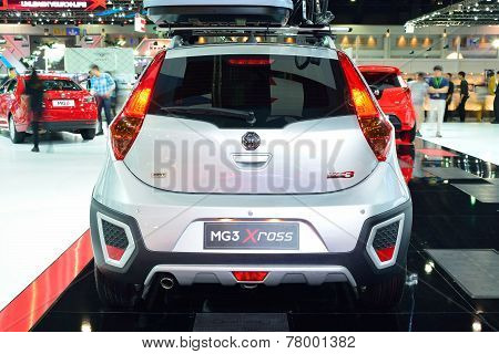 Nonthaburi - December 1: Mg 3 X-cross Car Display At Thailand International Motor Expo On December 1