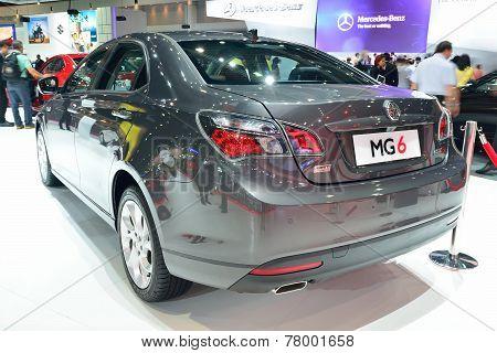 Nonthaburi - December 1: Mg 6 Sedan Special Edition Car Display At Thailand International Motor Expo