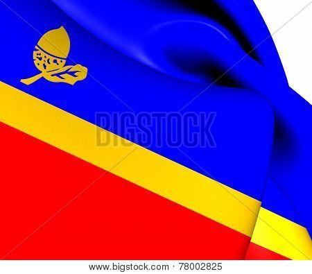 Flag Of Waalre, Netherlands.