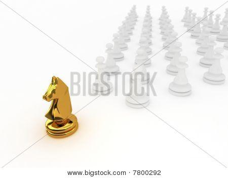 Chessman horse