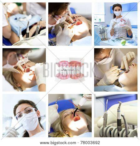 Dentist Collage