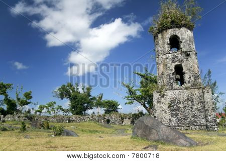 Cagsawa Church Ruins Mayon Volcano