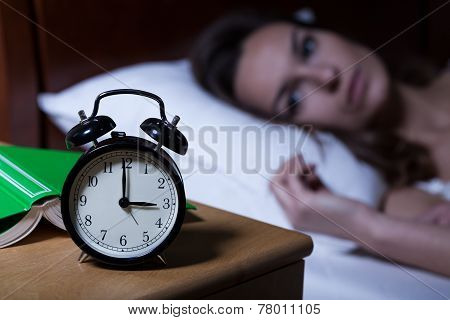 Alarm Clock Showing 3 A.m.