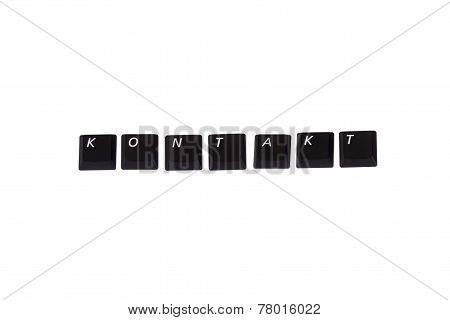 Kontakt Written In Keys