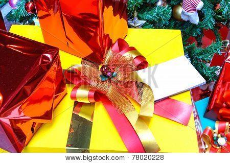 Close Up Of Gift Box