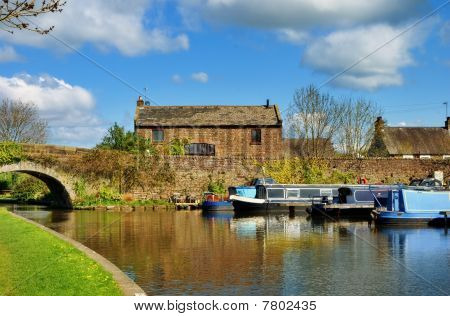 Lancaster canal, Galgate