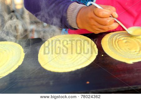 Pancake Snack In The Market