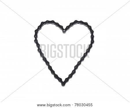 Heart Chain Metal