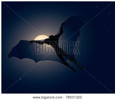 Flying vampire