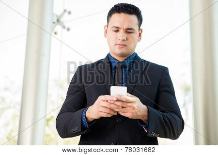 Using A Cell Phone At Work