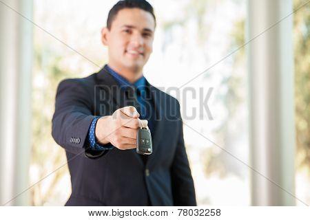 Handing Some Car Keys Over