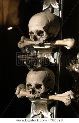 Candelabrum form Human Skulls