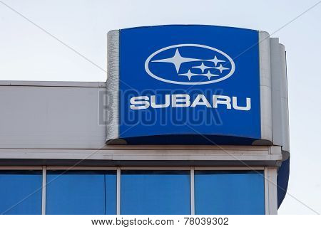 Subaru Dealership Sign