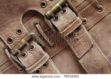 Leather With Belts