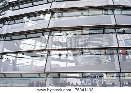 Reichstag Dome Detail
