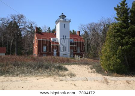 Lighthouse - 40 Mile Point, Michigan
