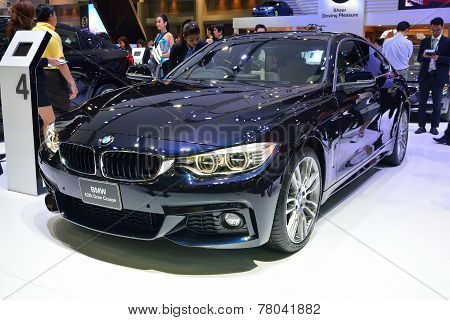 Nonthaburi - December 1: Bmw 428I Gran Coupe Car Display At Thailand International Motor Expo On Dec