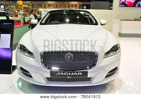 Nonthaburi - December 1: Jaguar Xj Car Display At Thailand International Motor Expo On December 1, 2