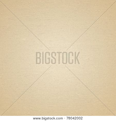 Beige Canvas With Delicate Grid To Use As Grunge Background Or Texture
