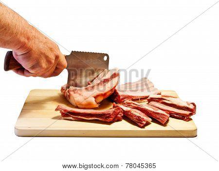 Cutting Meat