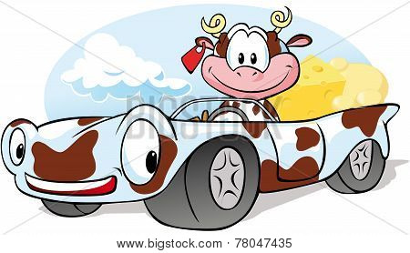 Driving Cow