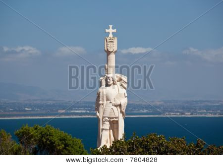 Cabrillo Monument And San Diego
