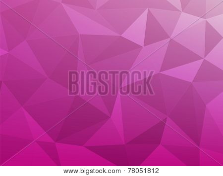 Abstract Background Pink Triangle Style