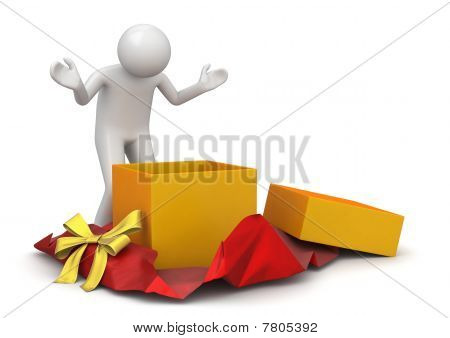 Lifestyle Collection - Unwrapping Present