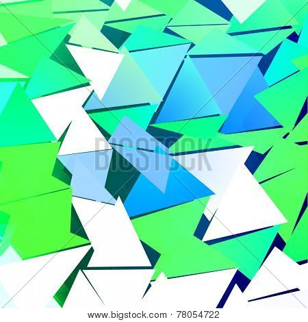 Colorful Abstract Background Vector from triangles