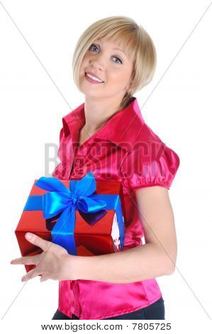 Young Blonde With A Gift.